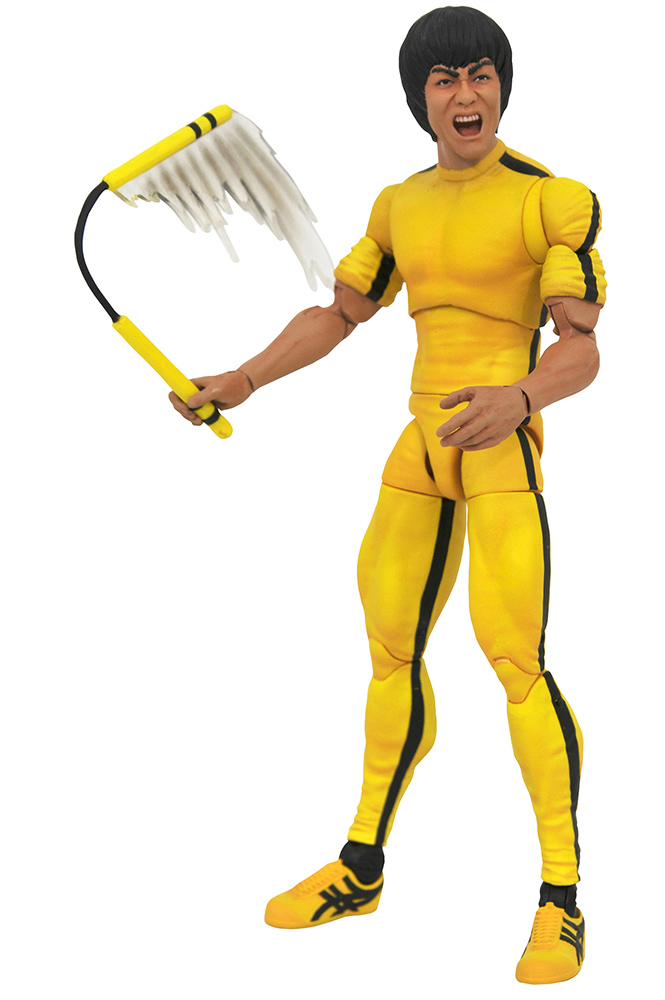 Bruce Lee select - Action figure - Yellow jump suit