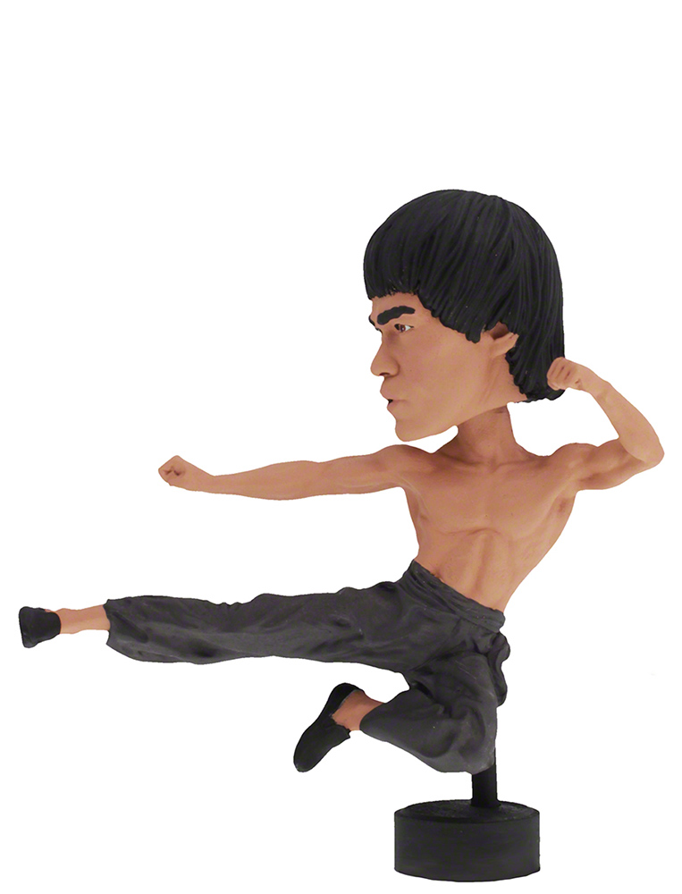 Bruce Lee computer sitter (10 cm) - Head knocker