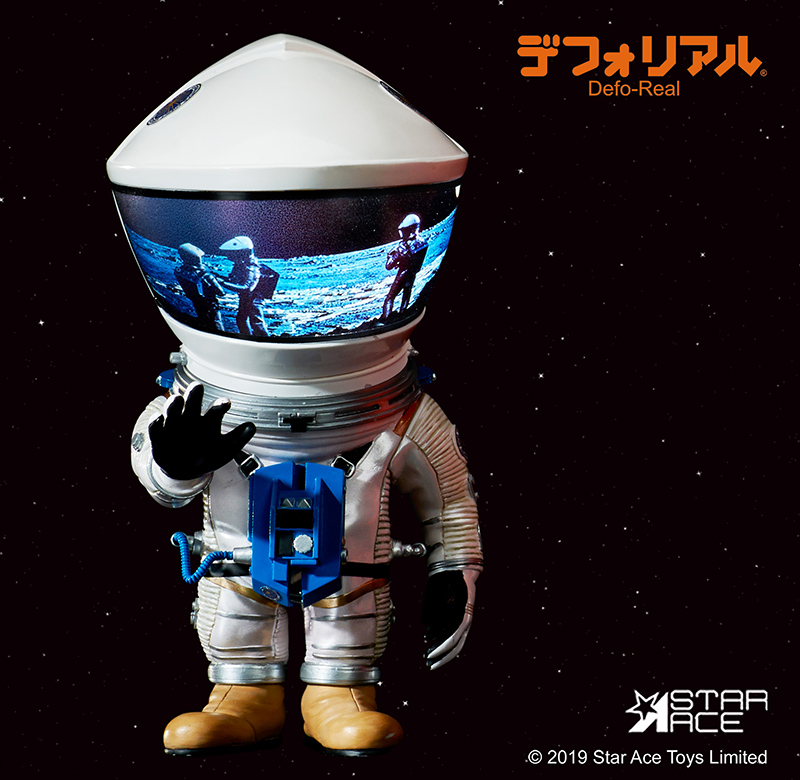 2001 Space Odissey DF astronaut silver (15 cm)
