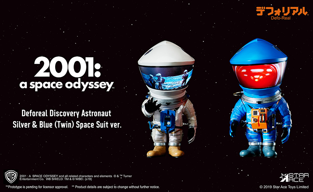 2001 Space Odissey DF astronaut silver & blue 2 pack (15 cm)