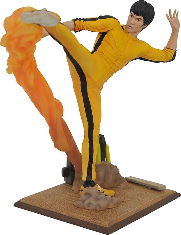 Bruce Lee gallery kicking figure