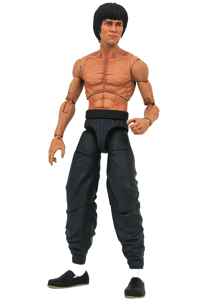 Bruce Lee select shirtless - Action figure