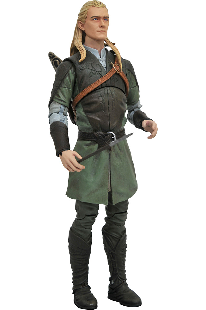 Lord of the Rings - Il Signore degli Anelli - Action figure s 1 Legolas