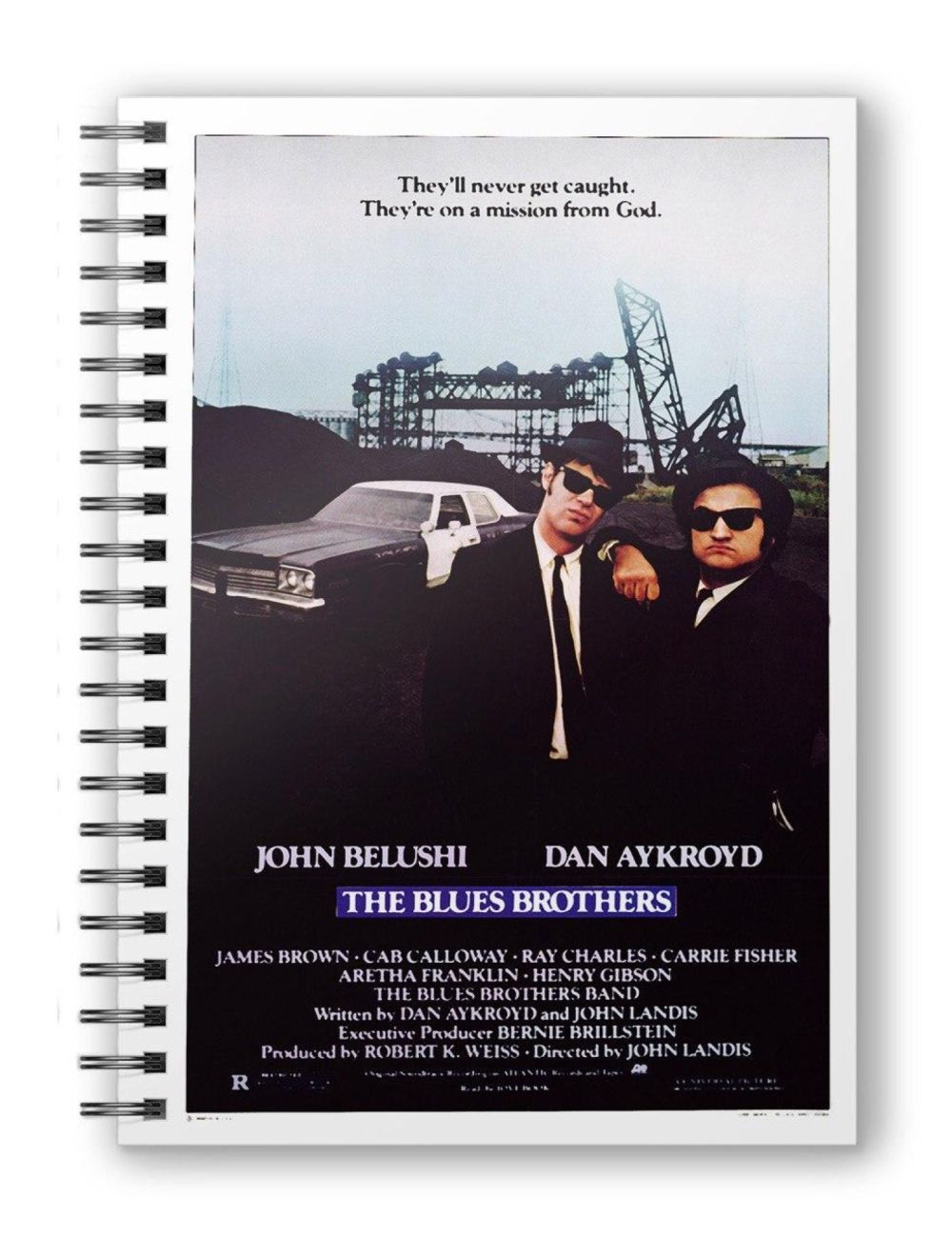 Blues Brothers (The) - Notebook - Taccuino - Mission from God