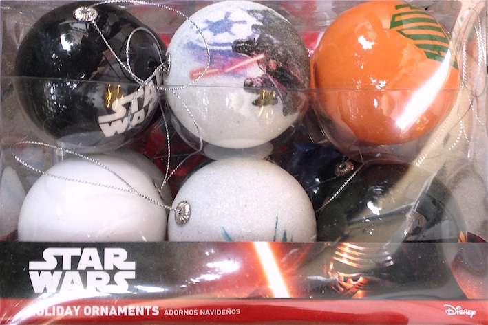 Star Wars - Palline di Natale Movie scenes - 12 Christmas ball set