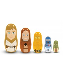 Star Wars - Matrioska - Jedi and Droids - Nesting Dolls