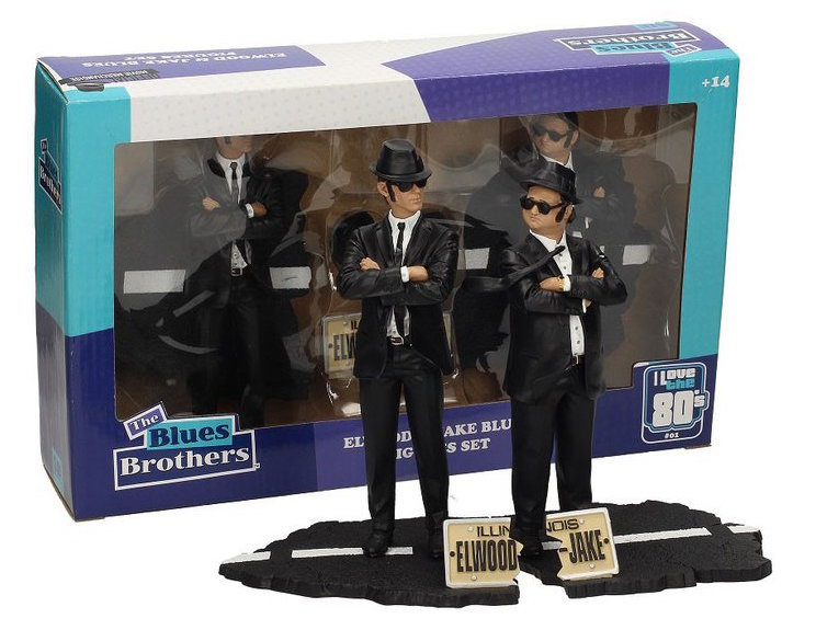 Blues Brothers (The) - Jake and Elwood 2 figures set