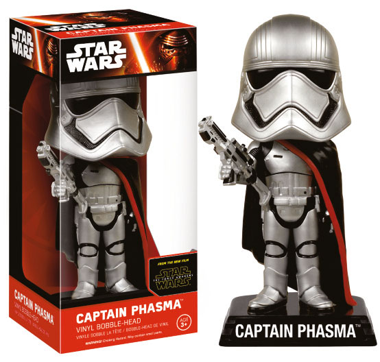 Star Wars VII - Wacky wobbler - Captain Phasma