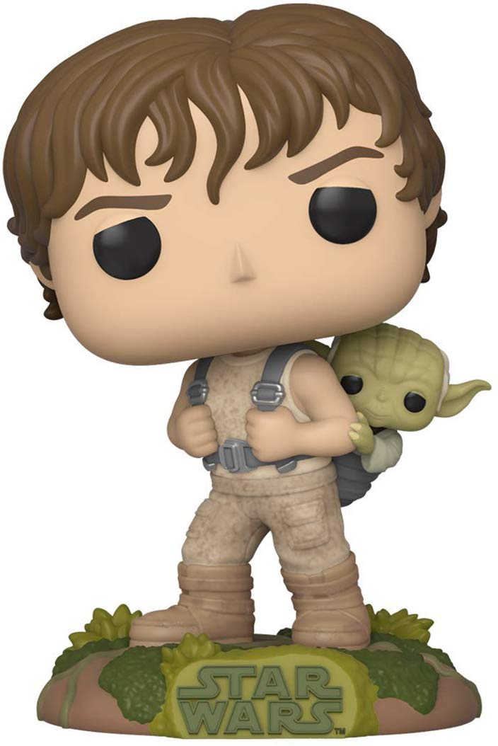 Star Wars - Funko Pop - Training Luke Skywalker with Yoda #363