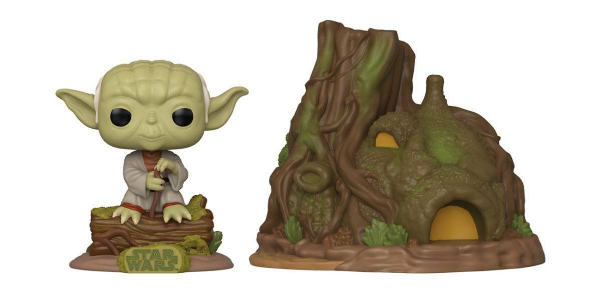 Star Wars - Funko Pop - Yoda's hut #