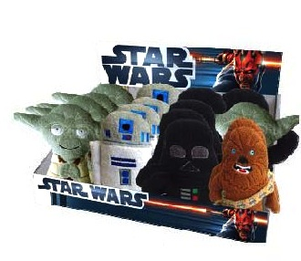 Star Wars - Comic Beanies 18 cm: Chewbacca