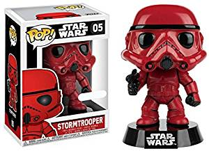 Star Wars - Funko Pop - Red Stormtrooper limited #05