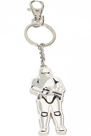 Star Wars VII - Portachiavi - Stormtrooper guard - Metal keychain