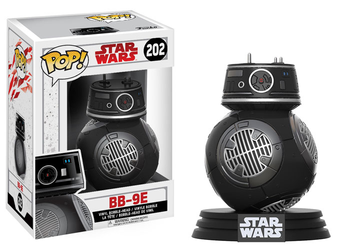 Star Wars VIII - Funko Pop BB9E #202