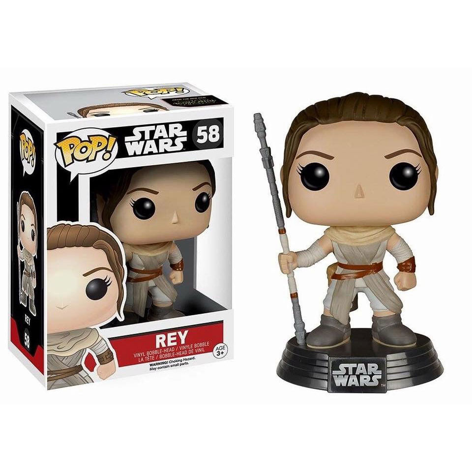 Star Wars VII - Funko Pop Rey #58