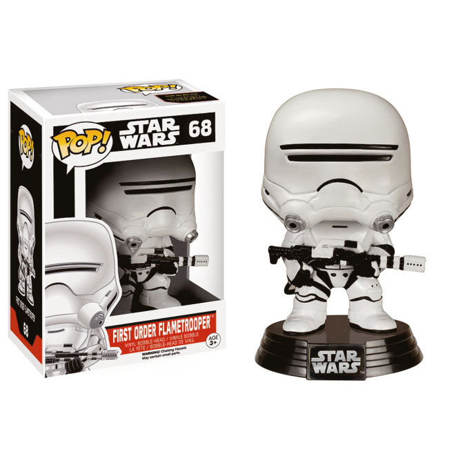 Star Wars VII - Funko Pop First Order Flametrooper #68