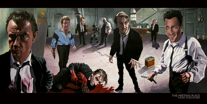 Justin Reed - Reservoir dogs - Le iene - Meeting place