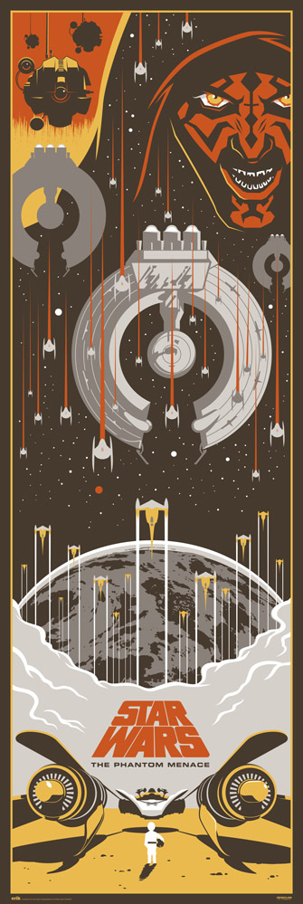 Star Wars - Door poster - Episodio I