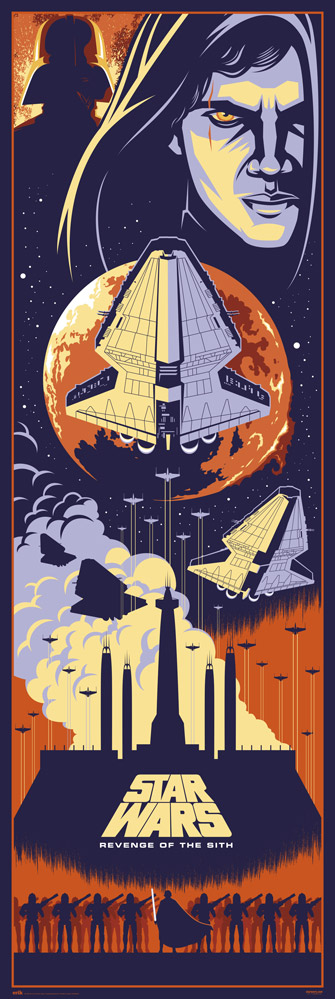 Star Wars - Door poster - Episodio III