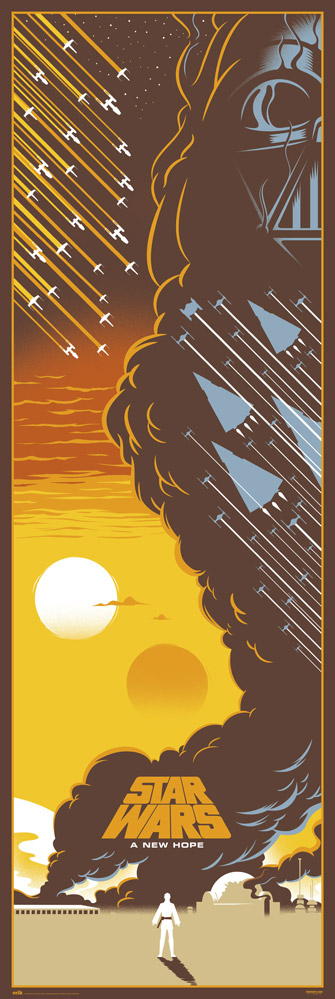 Star Wars - Door poster - Episodio IV