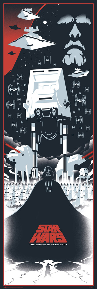 Star Wars - Door poster - Episodio V