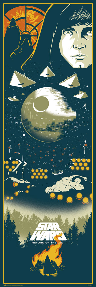 Star Wars - Door poster - Episodio VI
