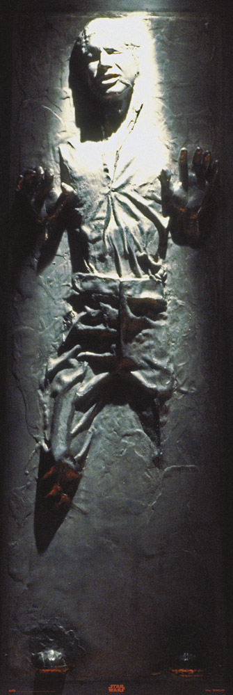 Star Wars - Door poster - Han Solo in carbonite