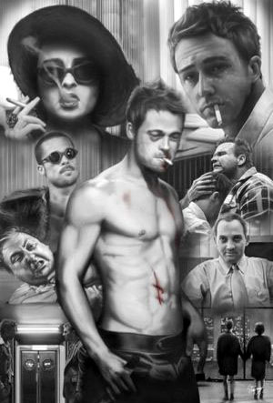 Fight club B/N