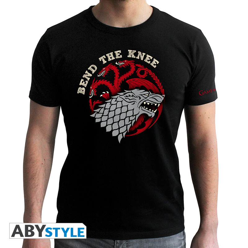 Game of Thrones (Trono di Spade) - Bend the knee black