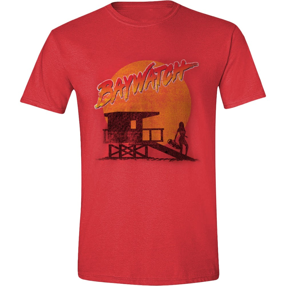 Baywatch - Beach Hut Red