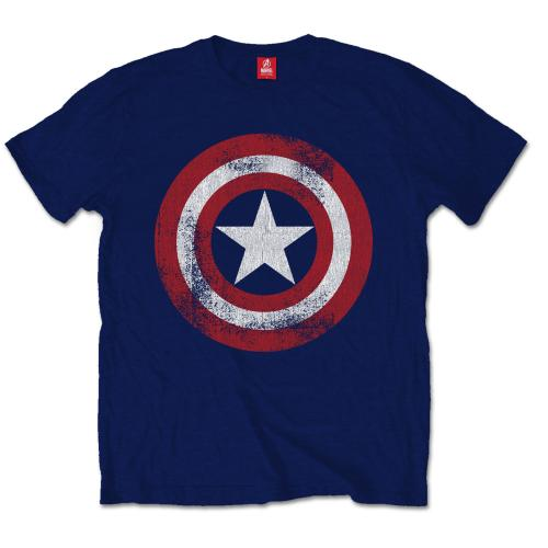 Captain America - Distressed shield (Marvel)