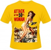 Attack of the 50ft woman (yellow)