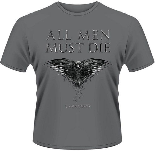 Game of Thrones (Trono di Spade) - All men must die