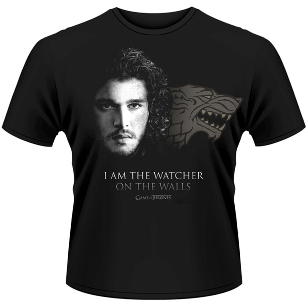Game of Thrones (Trono di Spade) - I am the watcher on the wall - Jon Snow